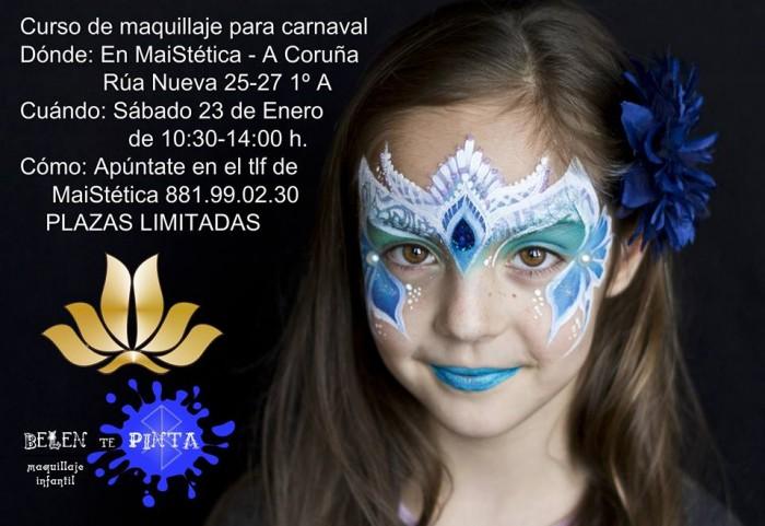 Curso de maquillaje para Carnaval