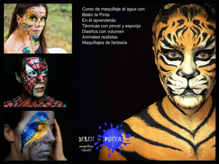Curso de Face Painting en Mallorca en Julio