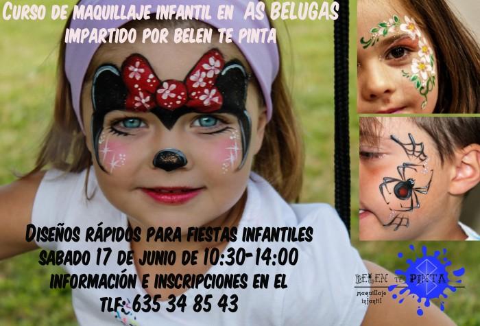 Próximo curso de maquillaje para monitores de tiempo libre en La Coruña
