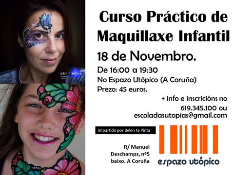 Curso de maquillaje al agua en La Coruña