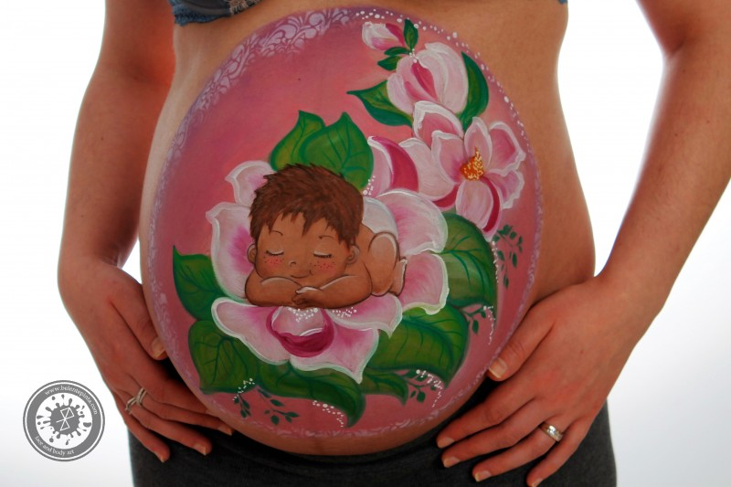 sesiones de belly painting en galicia