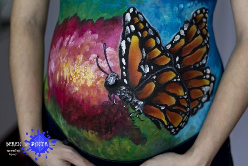 Arte prenatal: Mariposa monarca