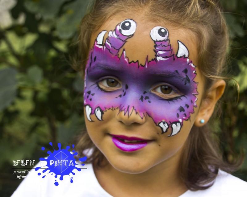 Face painting bichito