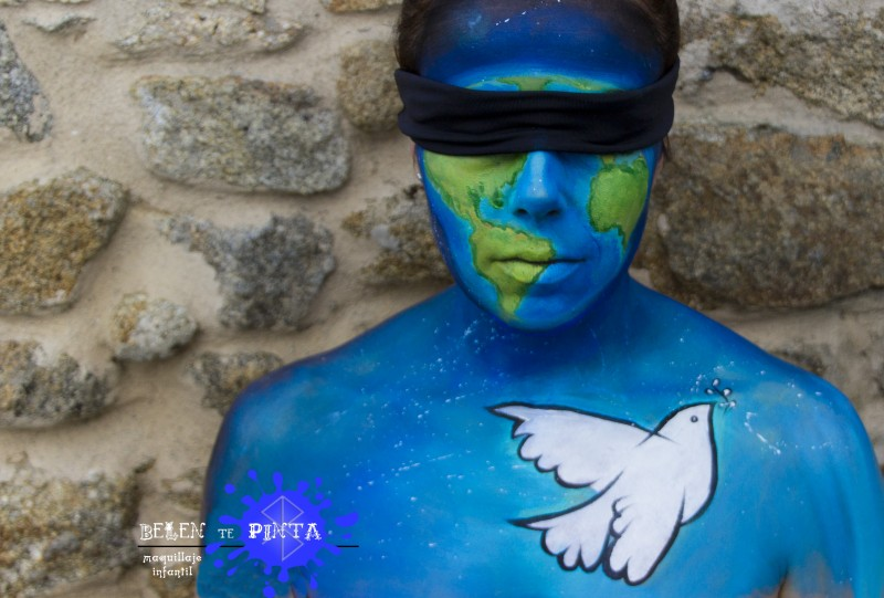 Face painting paz