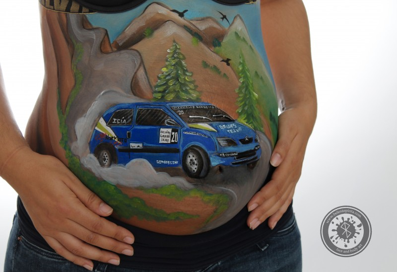 BELLY PAINTING RALLY